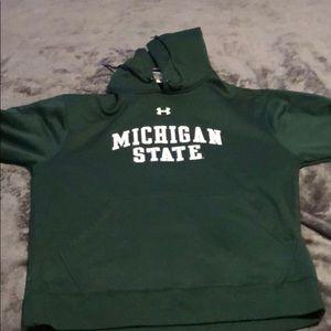 Under Armour Jackets & Coats - Michigan State Medium Under Armour Hoodie!